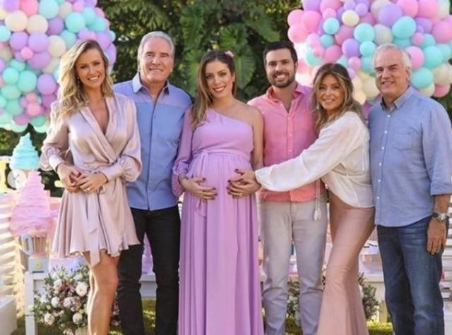Fabiana Justus. filha do empresário e apresentador da Record TV Roberto Justus.