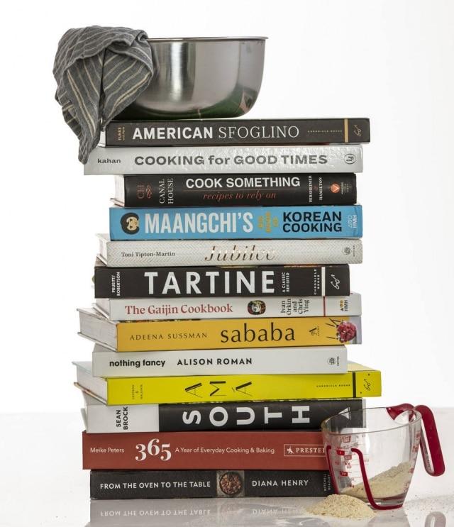 A seleção do New York Times dos melhores livros de culinária da temporada.