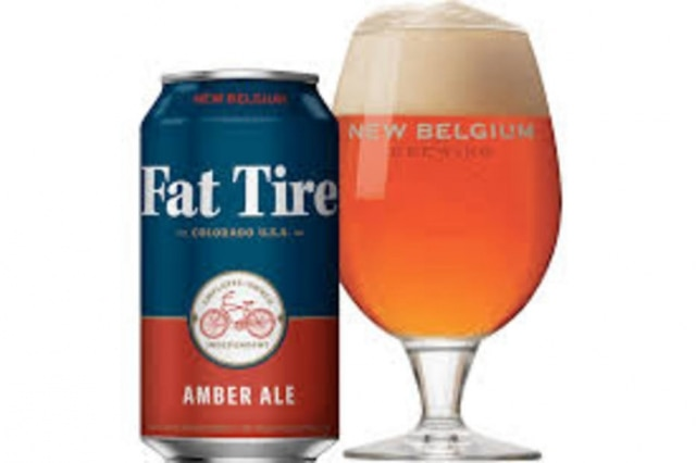 Cerveja Fat Tire da americana New Belgium