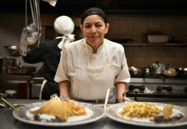 A chef mayora Guilhermina Ordoñez