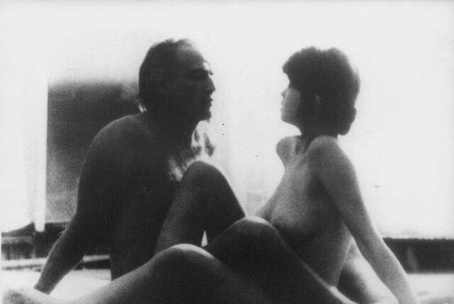 Marlon Brando e Maria Schneiderdirigidos por Bernardo Bertolucci