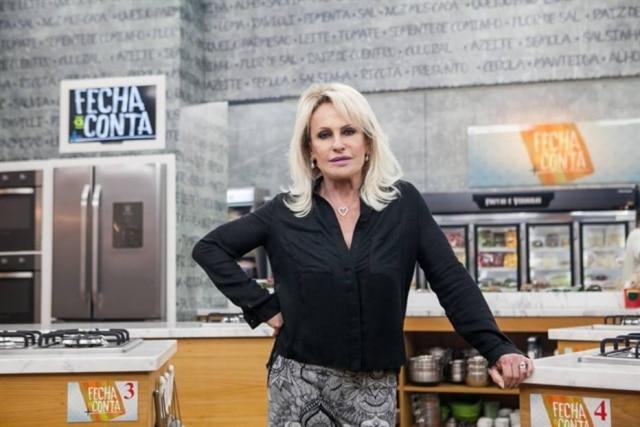 A apresentadora Ana Maria Braga.