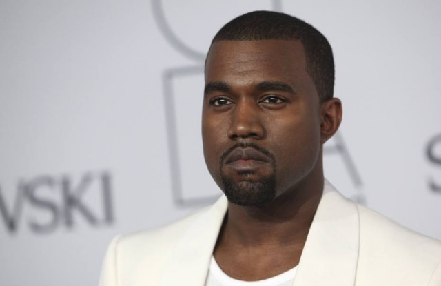O rapper Kanye West.