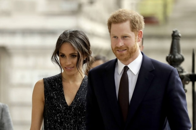 Meghan Markle e príncipe Harry.