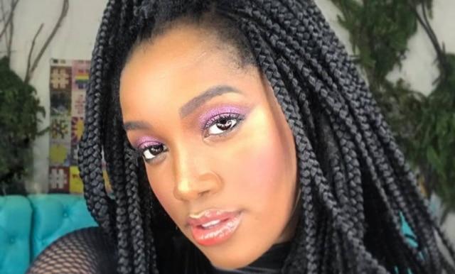 A cantora Iza