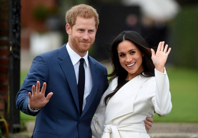 O príncipe Harry e Meghan Markle, duque e duquesa de Sussex.