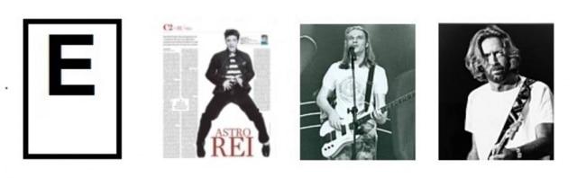 Elvis Presley, Engenheiros do Hawaí, Eric Clapton