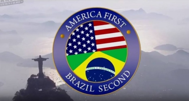 America First, Brazil Second: novo quadro do 'Tá No Ar' viraliza nas redes sociais