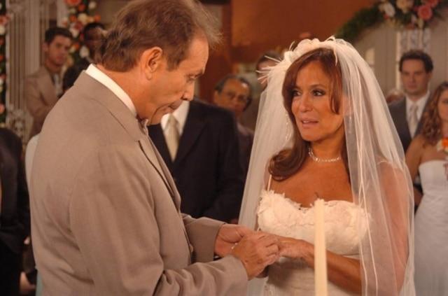 José Wilker e Susana Vieira em cena