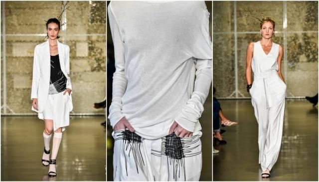 Trabalho caótico e visceral de Cy Twombly foi o ponto de partida da estilistaRaquel Davidowicz na UMA