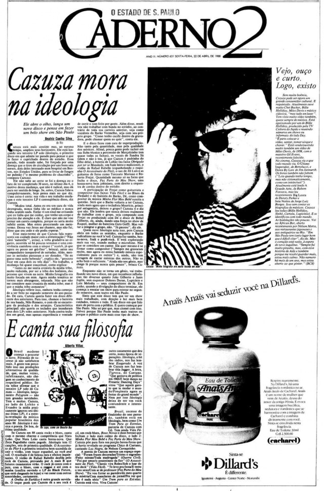 O Estado de S.Paulo - 22/04/1988