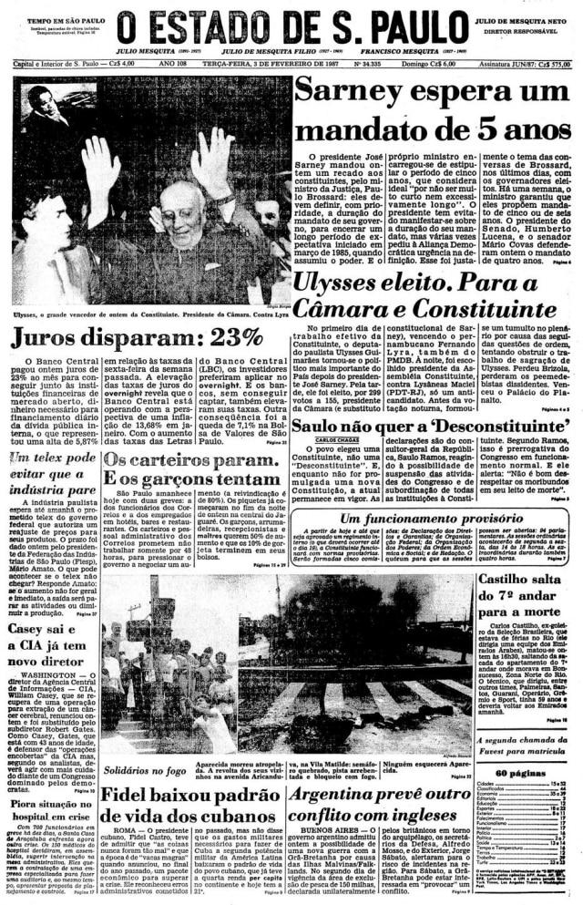 > Estadão - 03/02/1987