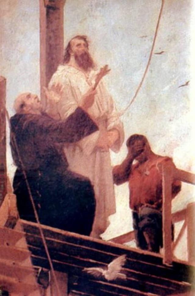 Martírio de Tiradentes(1893), óleo de Aurélio Figueiredo