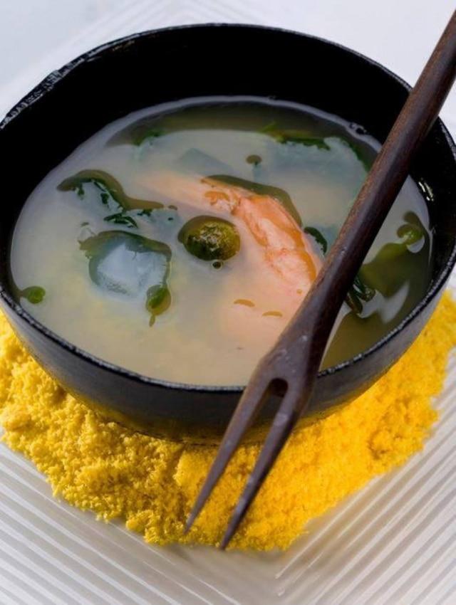 Cuia de tacacá da chef Mara Salles, do Tordesilhas