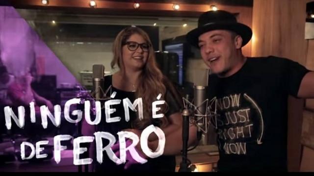 Wesley Safadão e Marília Mendonça lançam música juntos.