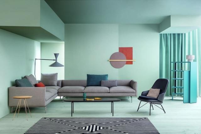 O sofá Flamingo de Damian Williamson para a Zanotta