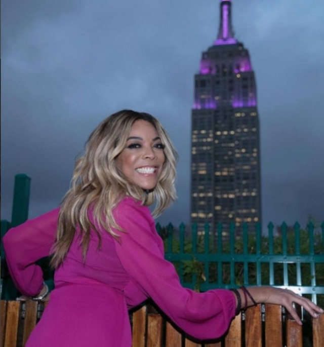 A apresentadora Wendy Williams, do The Wendy Williams Show