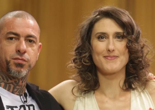 Os chefs Henrique Fogaça e Paola Carosella.
