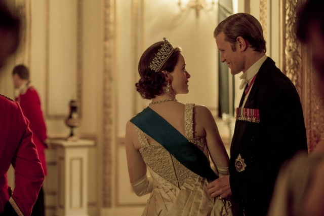 Cena de 'The Crown'.