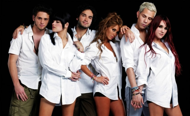 Integrantes do grupo RBD