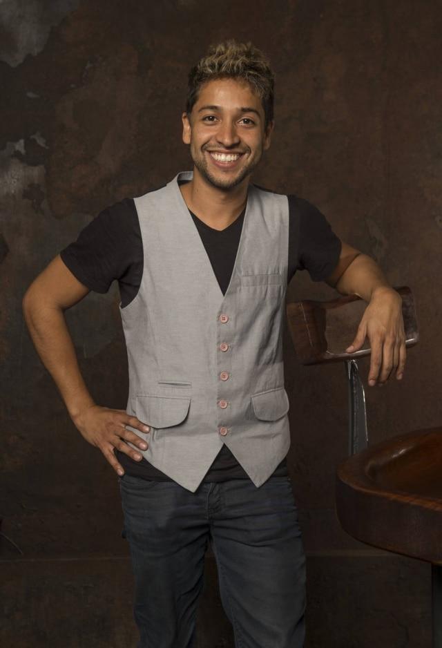 Leandro Leo em 2016, época em que fez a minissérie 'Justiça' na Globo.