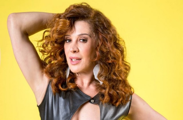 Claudia Raia, de 52 anos, é atriz, dançarina e cantora.