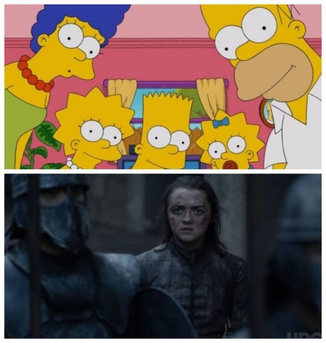 Simpsons teriam previsto final de 'Game of Thrones'?