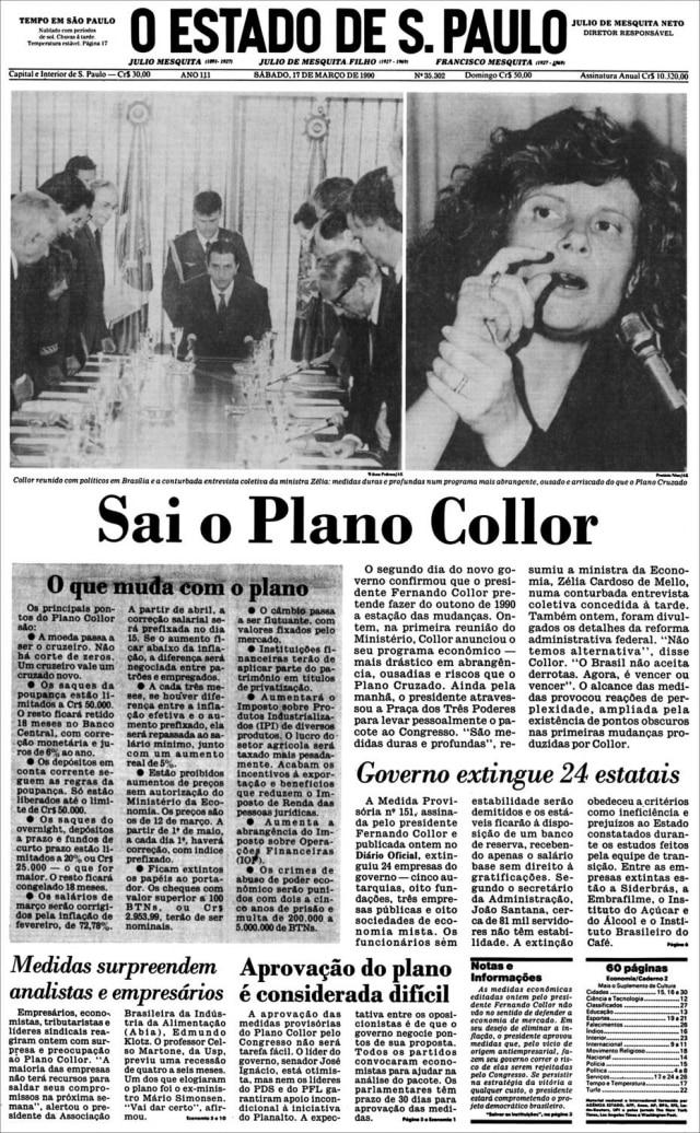O Estado de S.Paulo - 17/3/1990