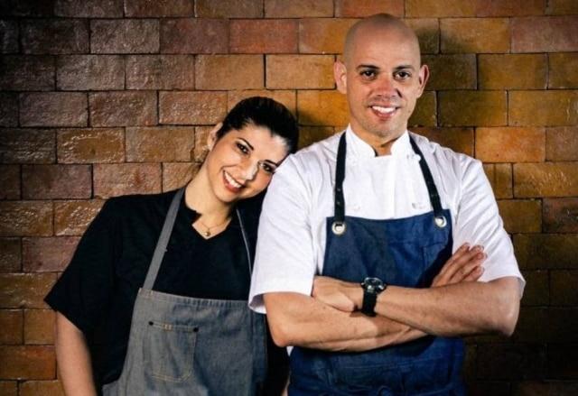 Lisiane Arouca e Fabrício Lemos, chefs baianos que vêm a São Paulo para dois jantares.