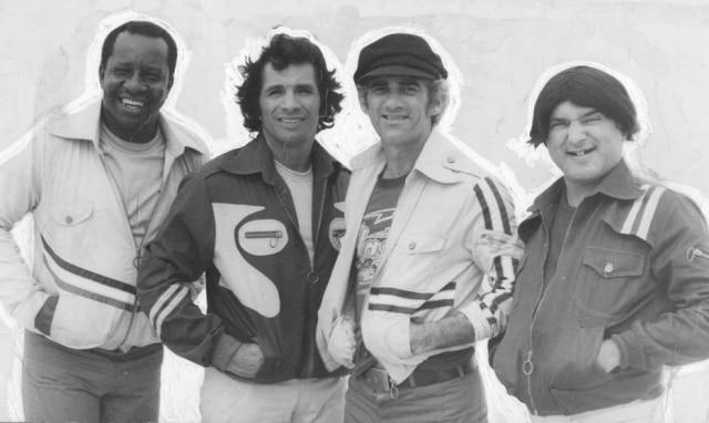 Didi, Dedé, Mussum e Zacarias, os 'Trapalhões', em 1979