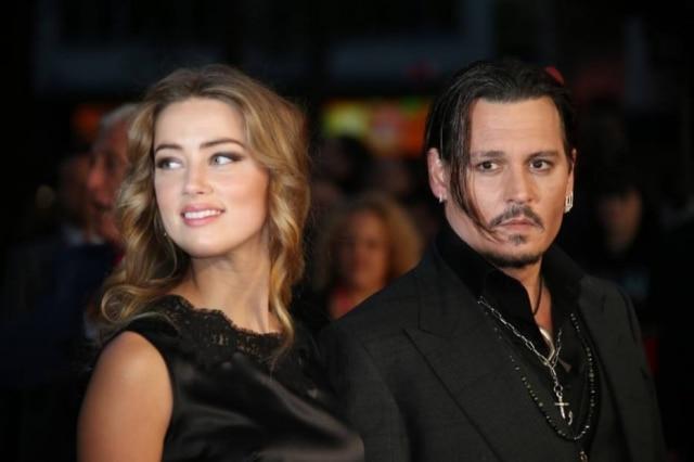 Amber Heard acusou Johnny Depp de violência doméstica em 2016.