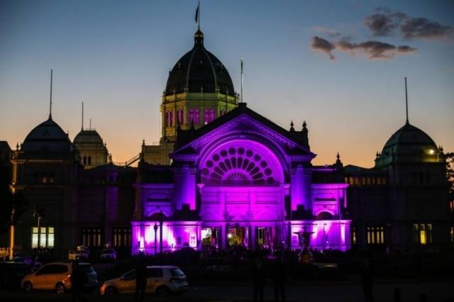Royal Exhibition Building, em Melbourne.