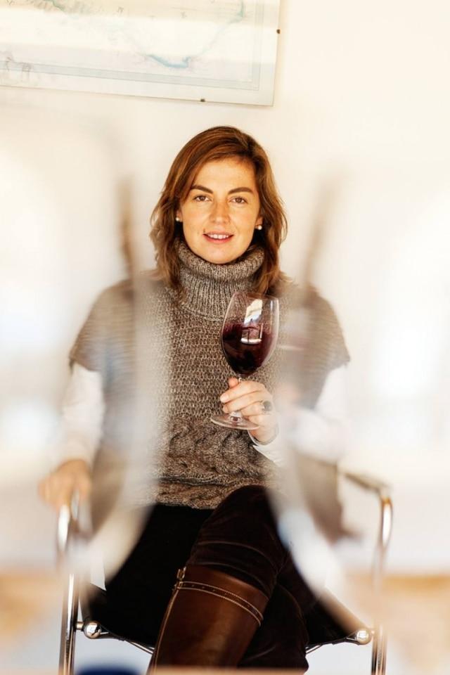 A enóloga espanhola Susana Esteban, que hoje faz vinhos autorais no Alentejo.