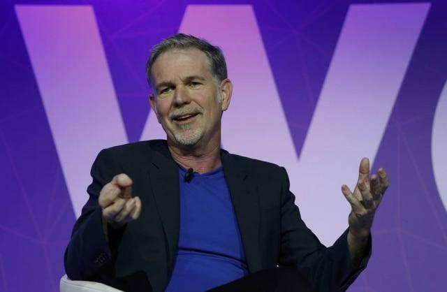 Reed Hastings, CEO e um dos fundadores da Netflix