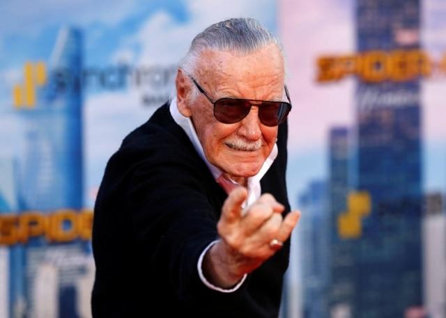 Stan Lee, criador do 'Homem-Aranha'