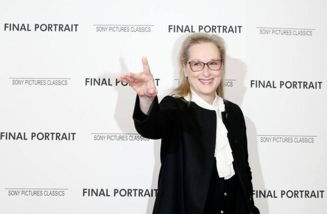 A atrizMeryl Streep.
