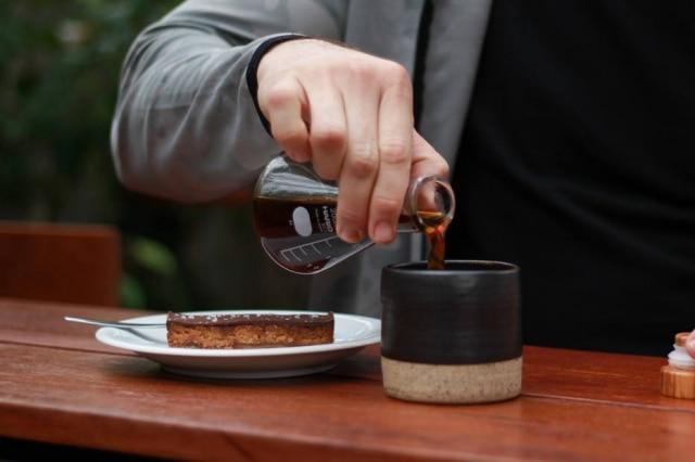 Café com caramelo salgado, do RomeoRomeo.