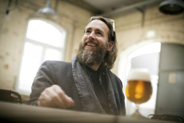 Greg Koch, um dos fundadores da cervejaria americana