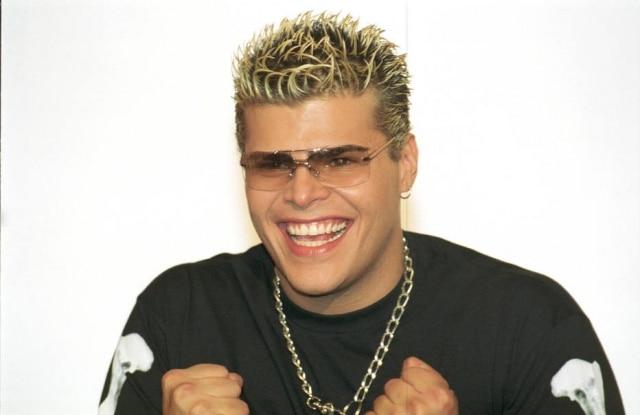 Rafael Vanucci em maio de 2002, logo após sair da 'Casa dos Artistas 2'.