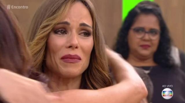 Ana Furtado durante sua participação no 'Encontro'
