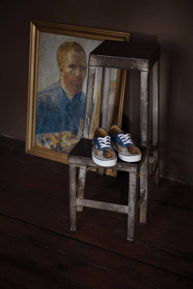 O famoso auto-retrato de Van Gogh é uma das peças que faz parte da coleção