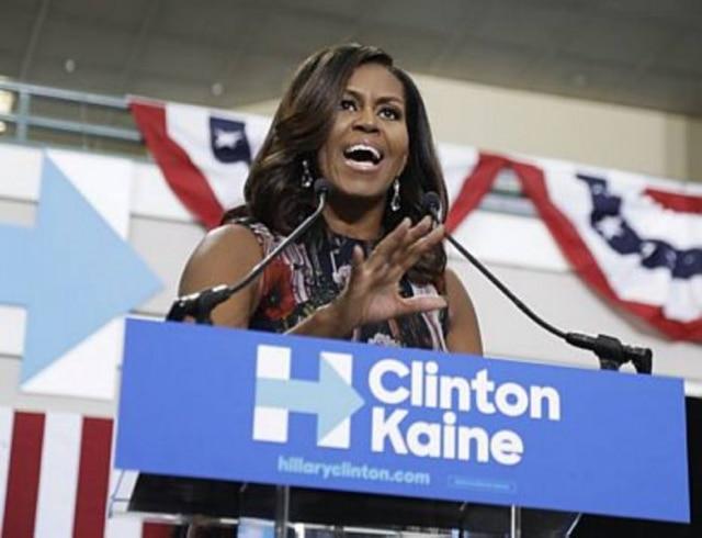 Michelle Obama, ex-primeira dama dos EUA.
