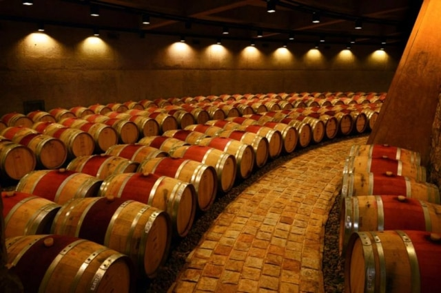 Catena Zapata aposta em vinhos produzidos em climas mais frios. Na foto, sua adega em Agrelo.