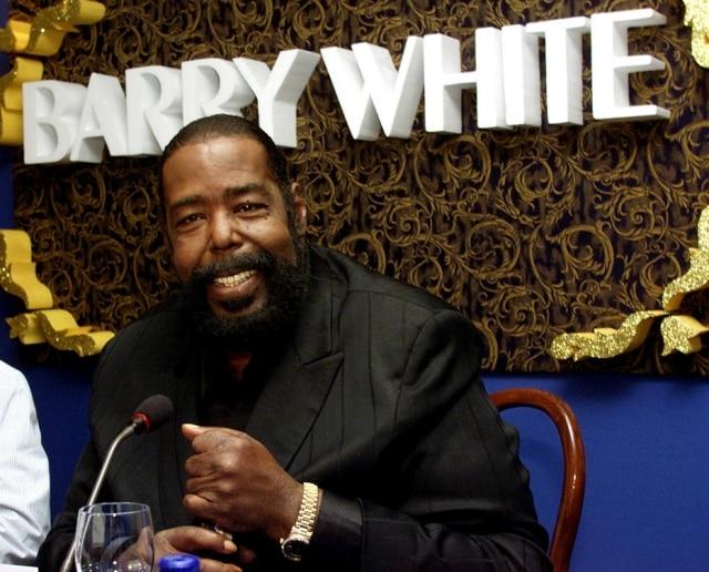 Barry White morreu em 2003