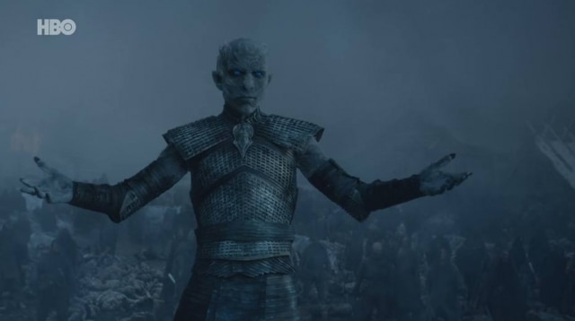 O Rei da Noite apareceu no final da quinta temporada e trouxe a ameaça dos Caminhantes Brancos para o centro da trama de 'Game of Thrones'.
