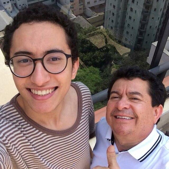 Solimões disse em entrevista que sempre soube que seu filho Gabriel era gay e que isso nunca mudou nada em sua vida