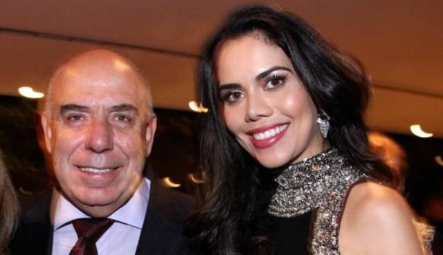 Amilcare Dallevo Jr. e Daniela Albuquerque.