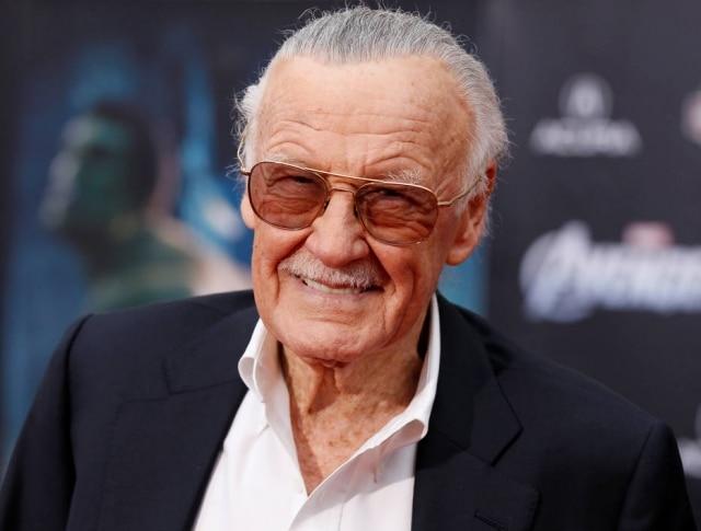 Stan Lee, lenda dos quadrinhos e produtor executivo, morreu em 2018 aos 95 anos.