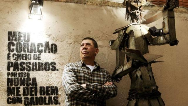 Articulador cultural, Sergio Vaz é ocriador do sarau da Cooperifa.