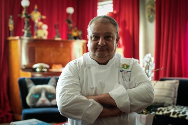O chef de cozinhaErick Jacquin.